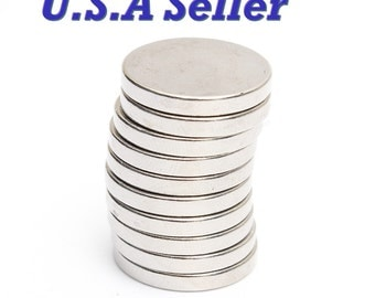5pcs-10pcs 20mm X 3mm Round Disc Strong Rare Earth Magnets Neodymium N35 craft magnets project magnets