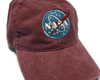 FREE Shipping - NASA Today & Tomorrow Washed Ponytail Cotton Cap