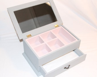 Jewellery Box - Handpainted and personalised to your specifcations