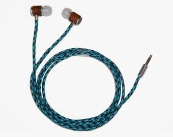 Colorful Handmade Earphones - Wave