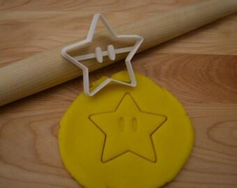Super Mario Star Cookie Cutter - Super Mario Cookie Cutter