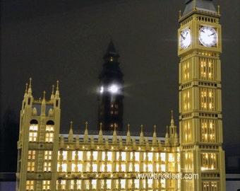 LED Lighting kit for LEGO® 10253 London Big Ben LED Lighting Kit