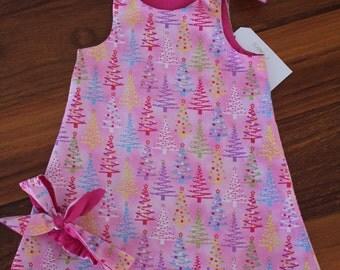 Pink Christmas Tree Dress