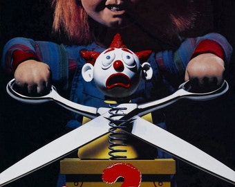 CHILDS PLAY 2 Movie Poster Horror Chucky