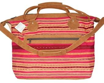Fairtrade and Handmade Weekender Bag