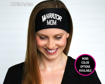 Warrior mom headband | Warrior mom fitness | Warrior mom workouts