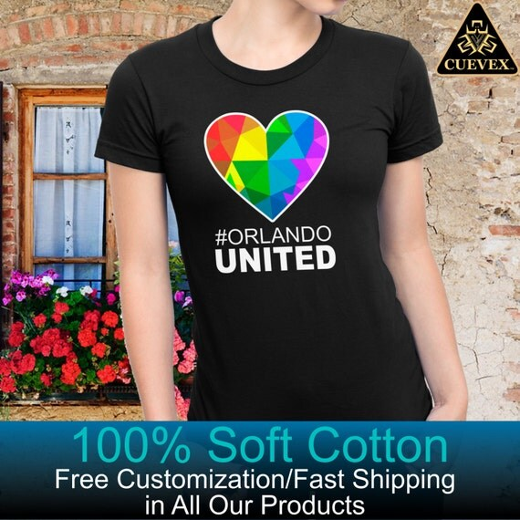 Women t shirt orlando united t shirt orlando for Orlando custom t shirts