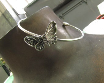 Bracelet Ag 925/1000 with butterfly