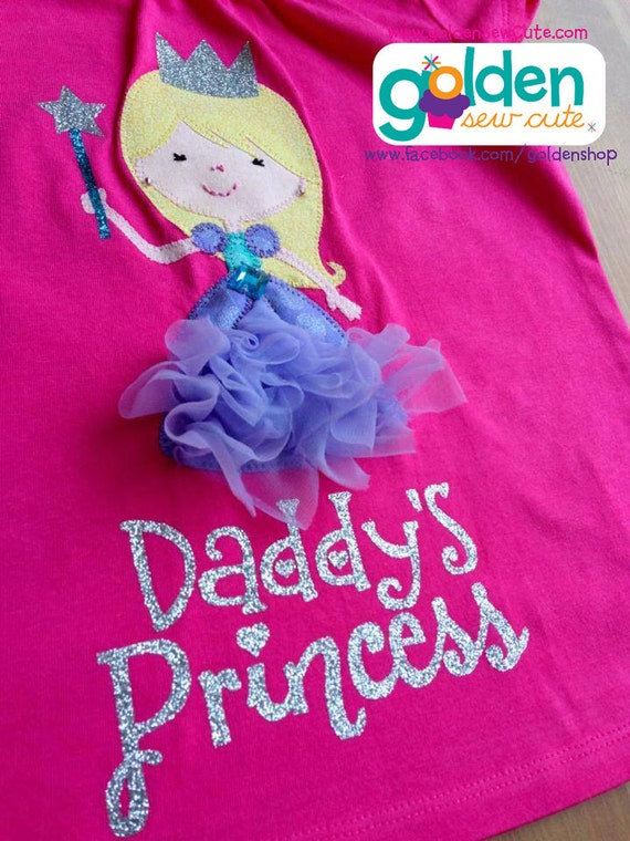 Father's Day Daddy's Princess, Dad, Daddy, Tee