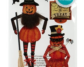 Jolee's Boutique Moveable Jack-O-Lanterns Dimensional Stickers, Jolees Halloween Stickers