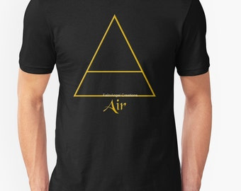 Pagan Air Element Symbol T-Shirt - Multiple Sizes & Colors Available!