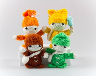 Amigurumi Crochet Pattern Crochet Doll Pattern Crochet Toys Amigurumi Doll Pattern Stuffed Toy Pattern Crochet Patterns P029