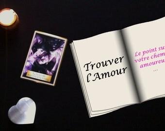 """Tirage """"Trouver l'Amour"""""""