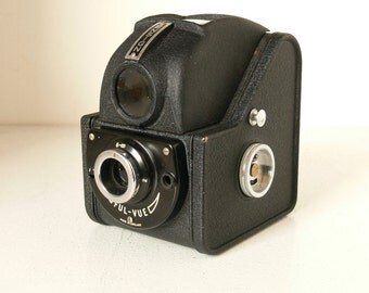 Vintage Ensign Ful-View Model 2 - 1950s - British Made - Very Stylish Camera - For Display Only