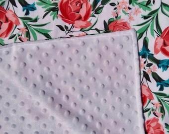Couverture 'Lit de Roses' / Blanket 'Bed of Roses'