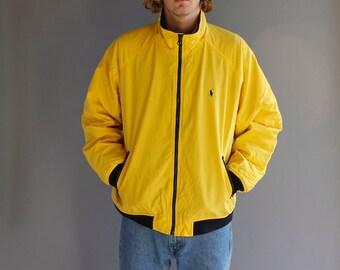 Vintage Ralph Lauren Polo Zip Up Jacket - XL