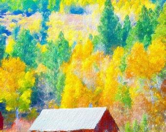 High Sierra Barn