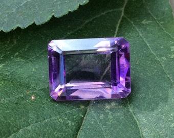 Natural Purple Amethyst Stunning Emerald Cut 16x12mm Loose Gemstone 10.5ct February Birthstone.  Wholesale Pricing A325
