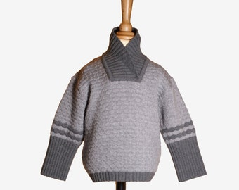 FRITZ knit sweater in Merino Wool