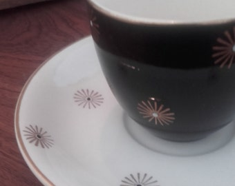 Alfred Meakin Midnight Star cup and saucer