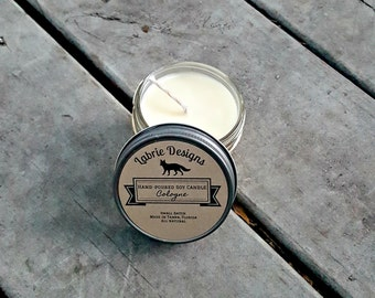Aftershave Soy Candle | Man Scented, Natural, Candles for Men, Gifts for Men, Dad, Groomsmen, Brother, Beard, Aftershave, Manly