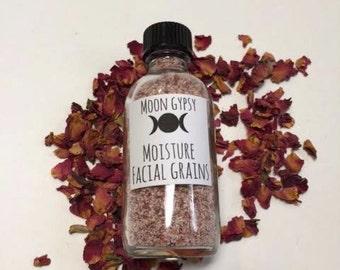 Organic Moisture Facial Cleansing Grains