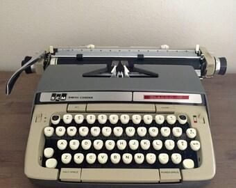 "Smith Corona Classic 12"" Portable Typewriter with Case; Vintage Typewriter; Working Typewriter"
