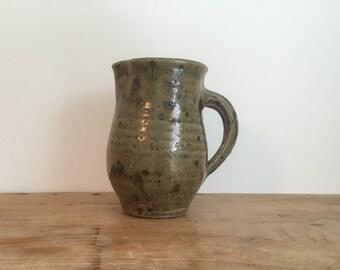 French Vintage Stoneware Jug