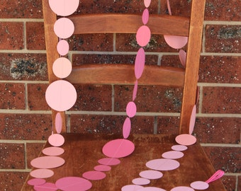 Pink Ombré Garland 3m or 6m