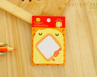 Mini Duck Sticky Notes / Cute Kawaii Animal Sticky Notes / Stationery / Stationary / School Supplies / Memo Pad / Bookmark / Small Notes
