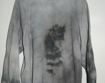 Tie Dye sweatshirt acid wash sweater grunge hipster Retro jumper vintage punk dip dye Indie Galaxy rave festival men women unisex top