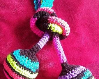 Custom Crochet Poi - Handmade