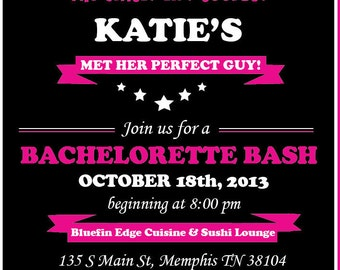 Bachlorette Invitation