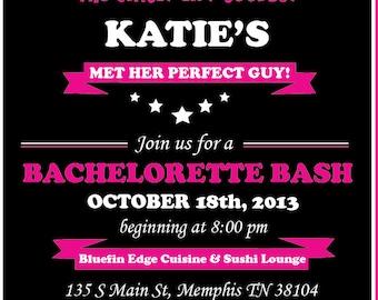 Bachlorette Invitation