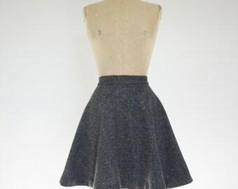 Wool mini skirt | Etsy