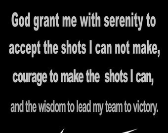 Basketball Prayer Poster