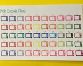 Colorful TV Planner Stickers