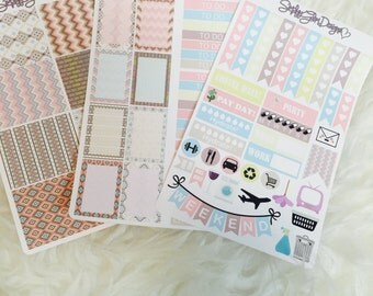 Tribal Chic Weekly Sticker Kit | Erin Condren and Plum Paper Planner