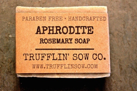 Trufflin Sow Soap Natural Ingredients