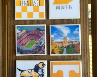 University of Tennessee Magnets (set of 6)