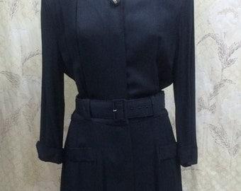 1980s Black Dress from Impulsive