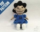 Amigurumi Crochet Pattern - Lucy Van Pelt [Peanuts]