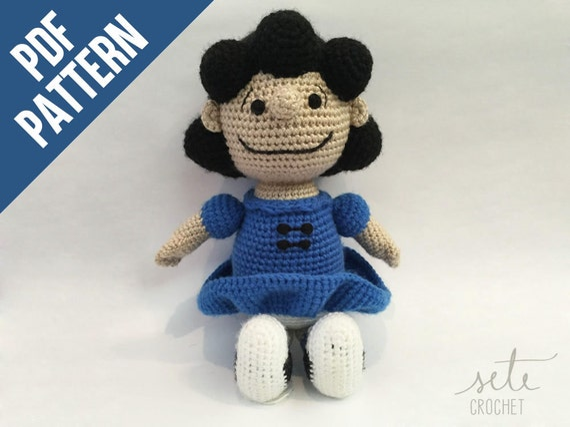 Amigurumi Crochet Pattern Lucy Van Pelt Peanuts