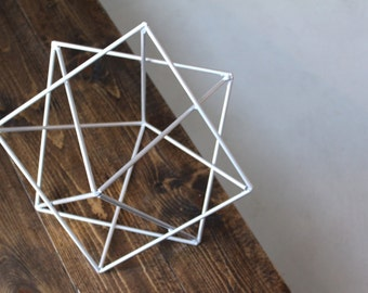 Minimalist Art Sculpture, Modern Metal Sculpture, Geometric Sculpture, Abstract Art, Mid Century, Reto, Metal Art, Metal Sculpture