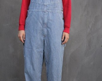 vintage osh kosh b'gosh vestbak overalls union made sanforized size up to 36 waist