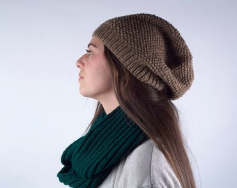 The Pepper Knit Beanie: Haushala Women's Cooperative, Made in Nepal
