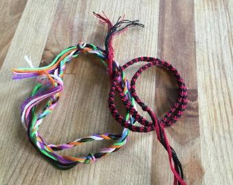 Double Wrap Friendship Bracelet