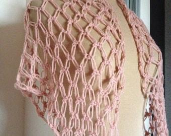 Light pink shawl  - ref 170