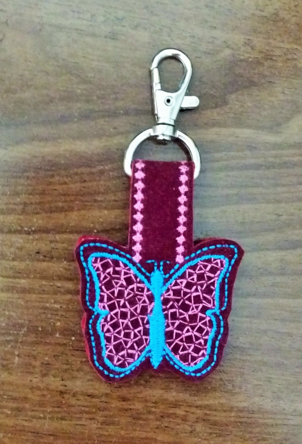 Ith key fobs machine embroidery designs in the hoop