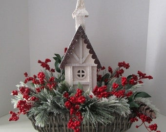 Woodland Christmas Arrangement